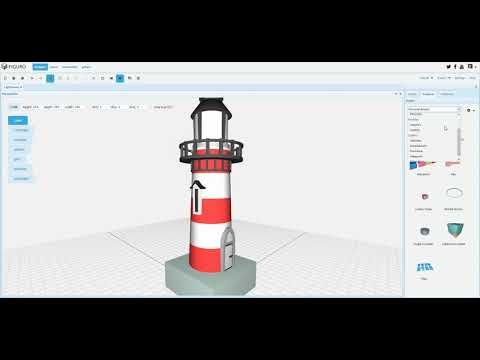 Figuro is a free online 3D modeling tool for 3D artists