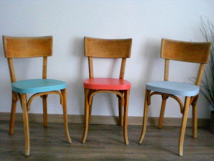 chaise bistrot Baumann revisité