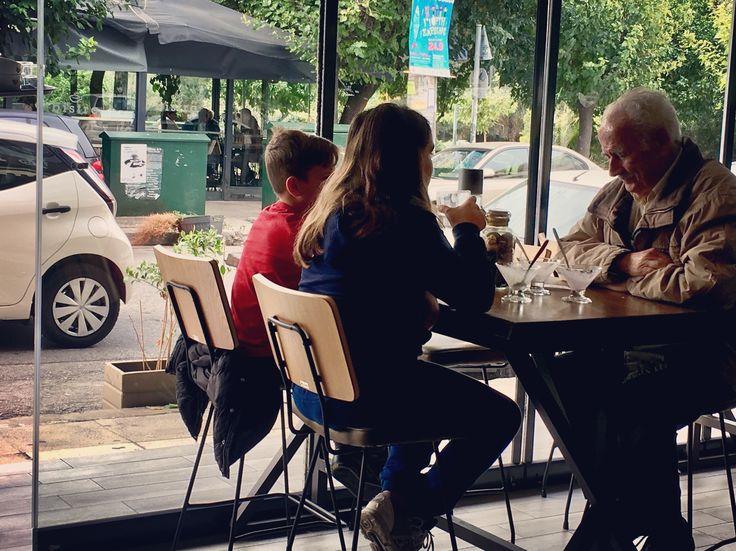 Moments with grandpa...   #Labrini_Athens_bistro_cafe