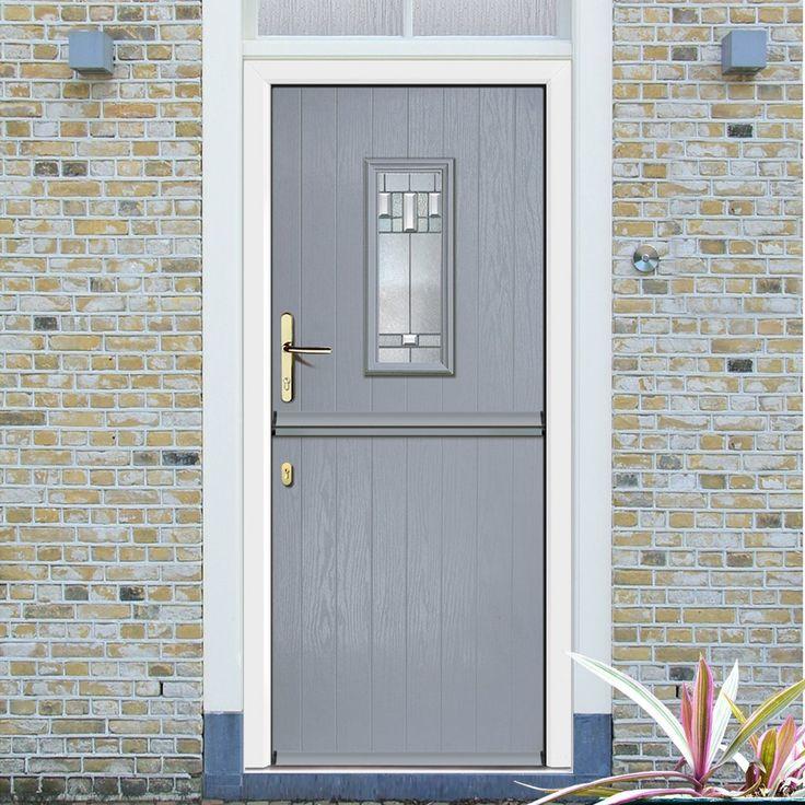 External Virtuoso Stable A2 Bienno Composite Door Shown in Slate & 149 best Composite Virtuoso Doors - \
