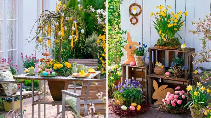 Inšpirujte sa: Originálna veľkonočná výzdoba na balkón aj terasu