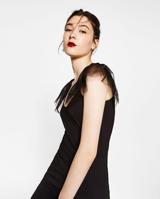 Imagen 3 de CAMISETA TUL de Zara