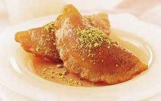 Katayef is the traditional sweet that is made during the Holy month of Ramadan.