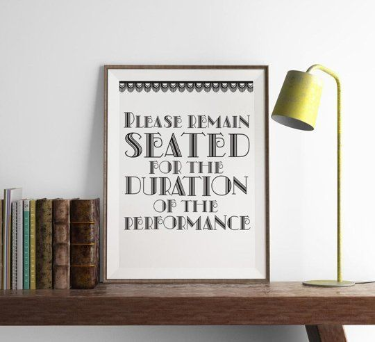 Toilet Humor: 10 Fun, Funny & Situationally Appropriate Prints For Bathroom Walls