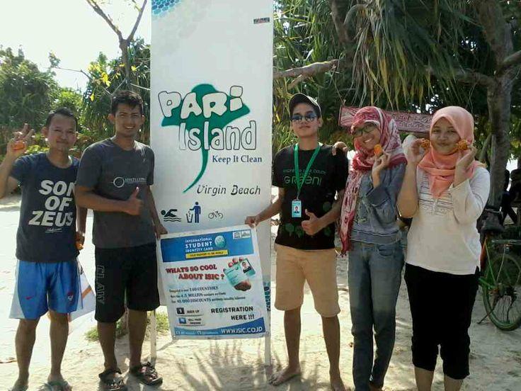 ISIC Go Green at Pulau Pari