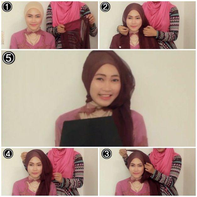 Tutorial Hijab Kebaya Untuk Wisuda #2