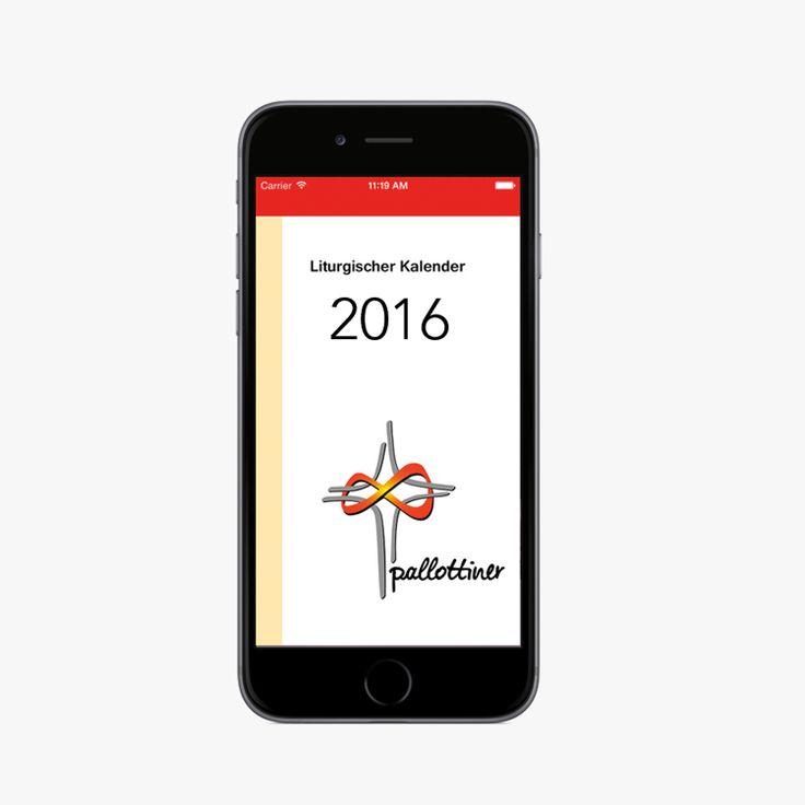 Liturgischer Kalender 2016 der Pallottiner als App