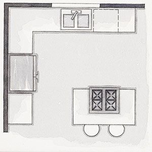Best 25+ 10x10 kitchen ideas on Pinterest  Kitchen layout diy, L shaped kitchen and Small i