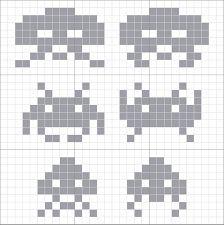 Bilderesultat for space invaders genser