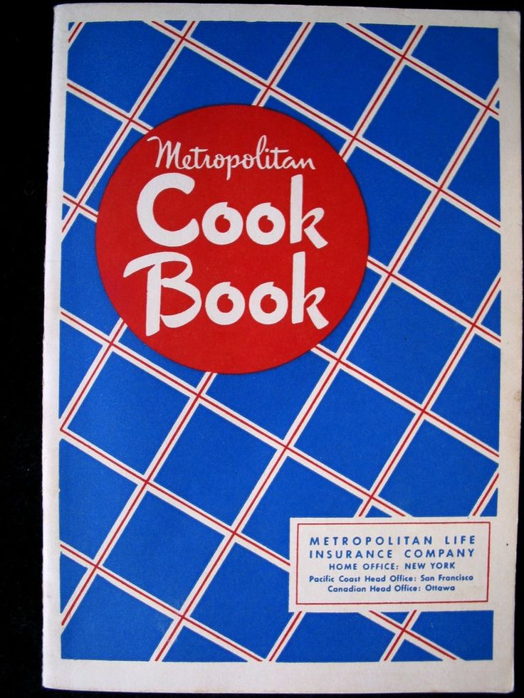 Metropolitan Cook Book 1948 Metropolitan Life Insurance Company