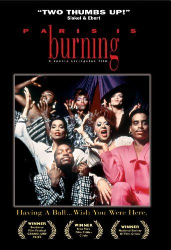 """PARIS IS BURNING is a 1990 American documentary film directed by Jennie Livingston. Filmed in the mid-to-late 1980s, it chronicles the ball culture of New York City and the African-American, Latino, gay, and transgender communities involved in it. Many members of the ball culture community consider Paris Is Burning to be an invaluable documentary of the end of the """"Golden Age"""" of New York City drag balls, as well as a thoughtful exploration of race, class, gender, and sexuality in America."""