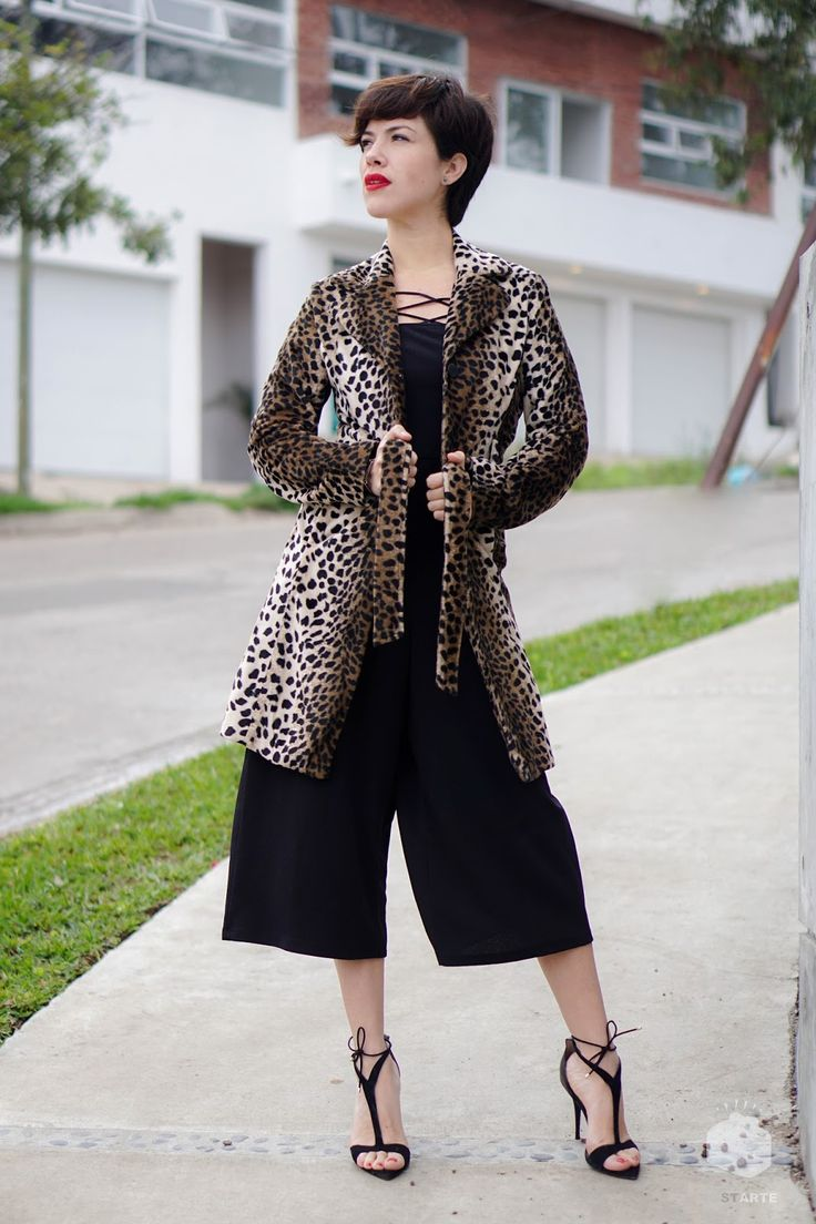 VINTAGE COAT. - VIVA LA MONTES  #fashionblog #mexicanblogger #Tijuana #animalprint #vintagecoat