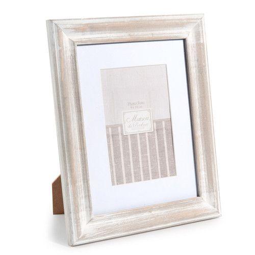 cadre photo en bois 21 x 26 cm anna table livre d 39 or livre reportage pinterest cadre. Black Bedroom Furniture Sets. Home Design Ideas