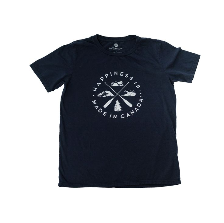 Crest Youth T-Shirt, Navy