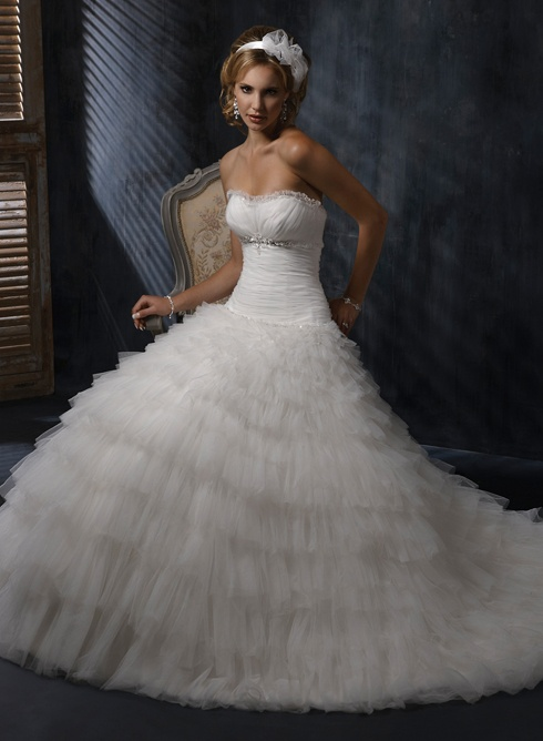 Large View of the Madelyn, Madelyn Marie Bridal Gown - Olivelli