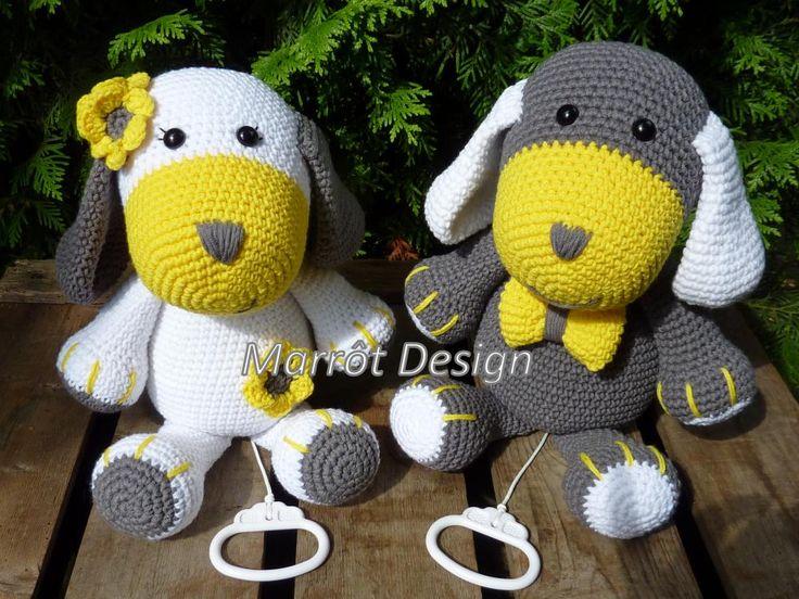 Marrot Design - Hondjes Billy en Lilly