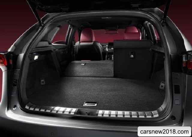 2018-2019 Lexus NX compact crossover