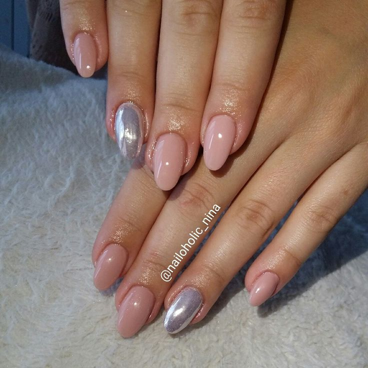 Chrome and nude
