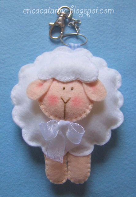 llavero ovejitas