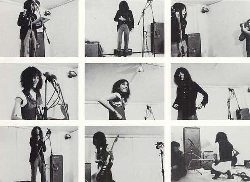 Patti Smith by Franz Gertsch