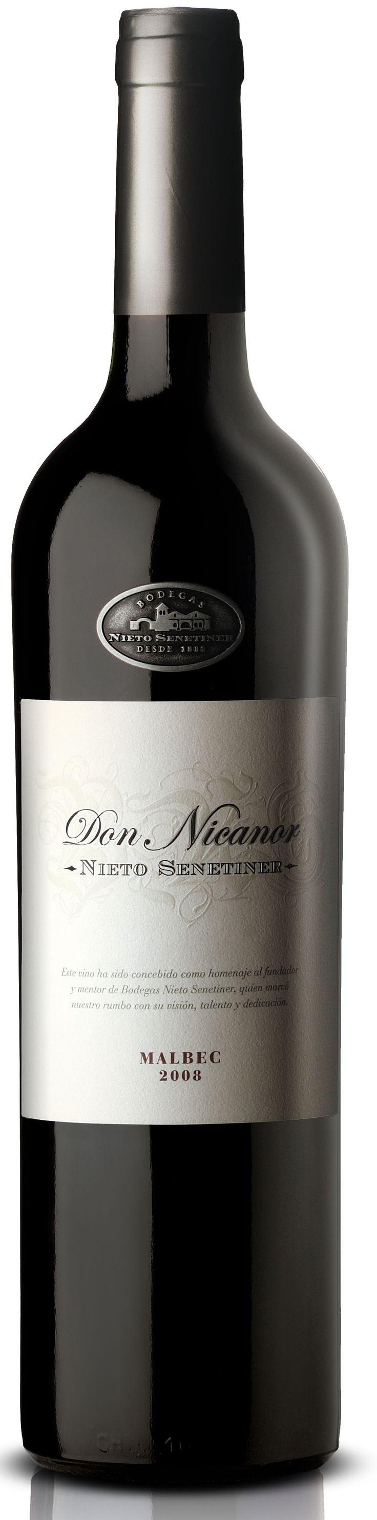"""""""Don Nicanor"""" Malbec 2012 - Bodega Nieto Senetiner, Luján de Cuyo, Mendoza--------------------Terroir: Agrelo------------------------ Crianza: 12 meses en barricas de roble francés de 2do. uso"""
