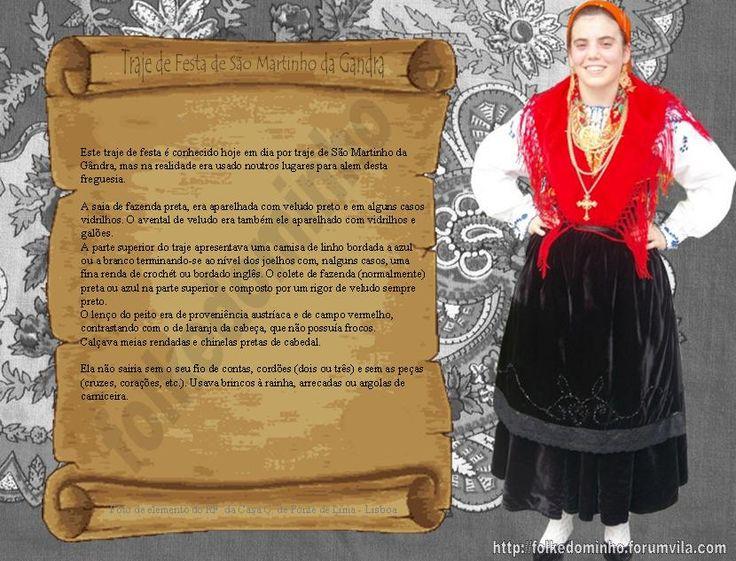 Folkedominho - Traje de Festa de São Martinho da Gândra