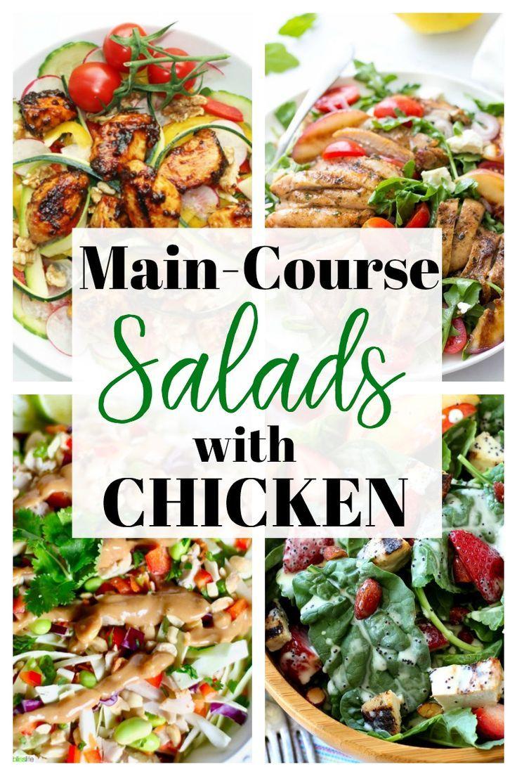 101 Healthy Salad Recipes For Everyone Happy Healthy Mama Healthysalads Chicken Dinner Ideas Healthy Salad Recipes Clean Dinner Recipes Chicken Recipes