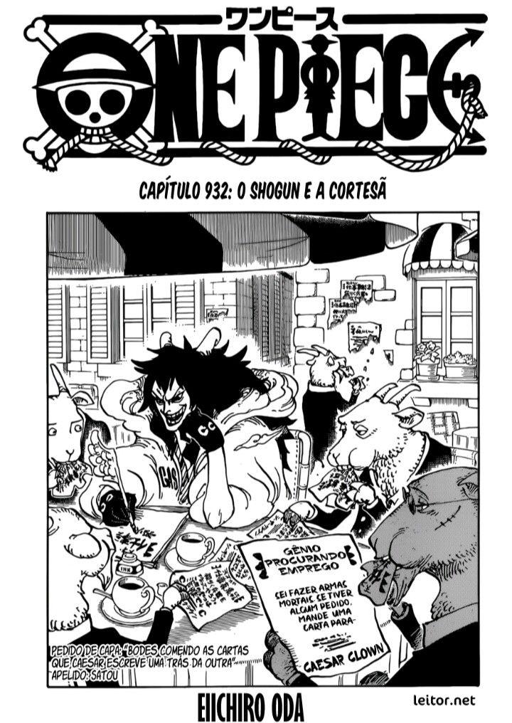 Pin De Manoel Victor Pereira Em One Piece Manga Kaidou Luffy Piece Manga