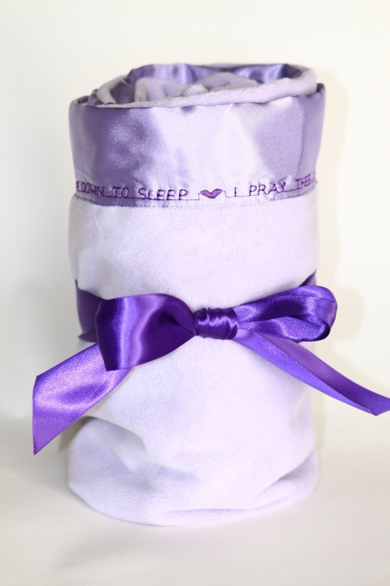 146 best lavender baby images on pinterest folk lavender and personalized baby blanket so super softrfect for new baby gift negle Images