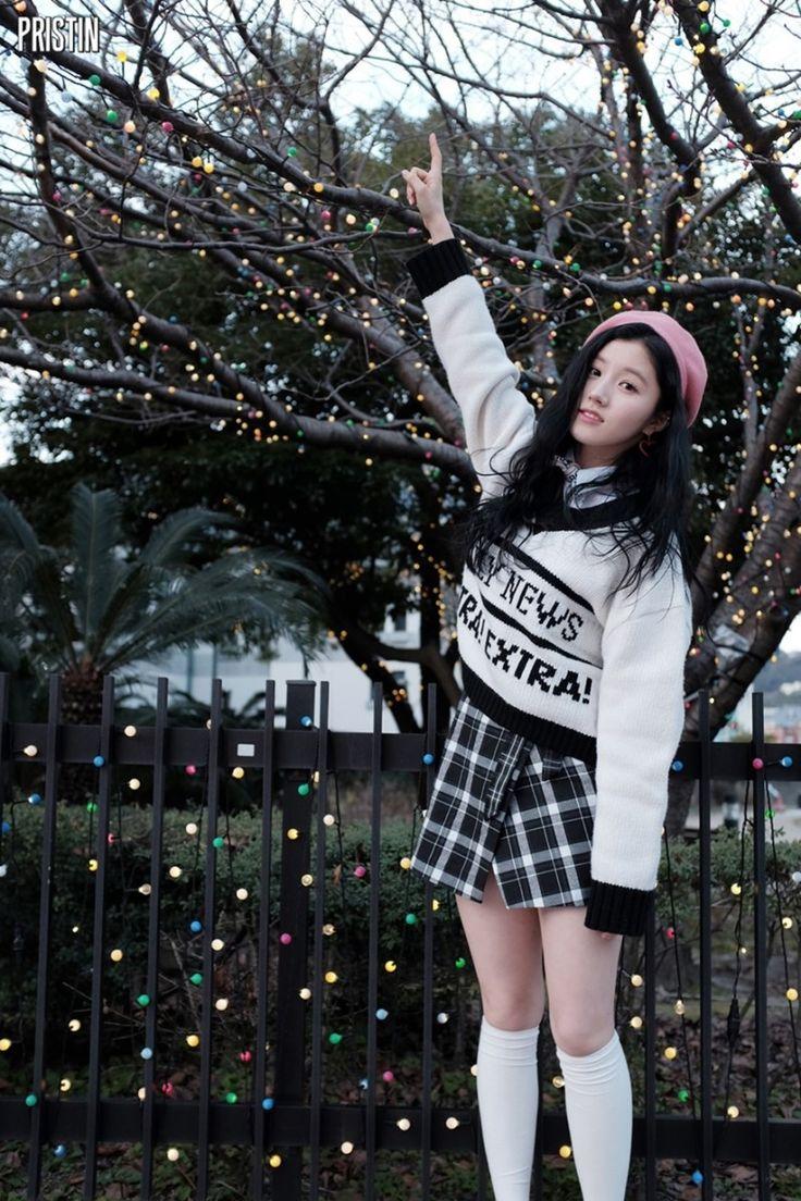 PRISTIN ♡ Xiyeon • Park SiYeon 박시연 (Park JungHyeon 박정현) WeeWoo Jacket shooting