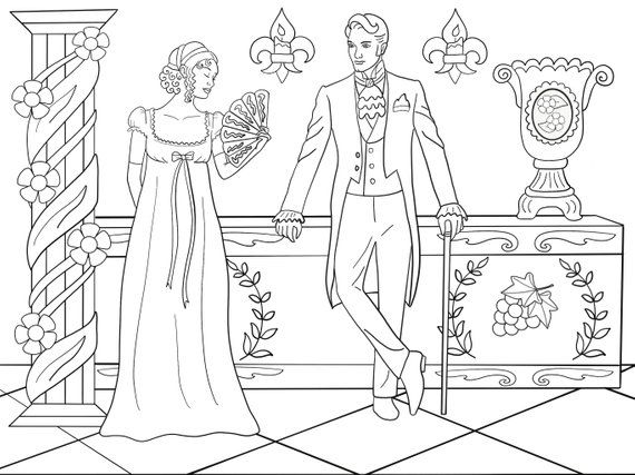 Pin By Ladywithpug On Regency Victorian Georgian Coloring Pages Coloring Books Barbie Coloring Pages Coloring Pages
