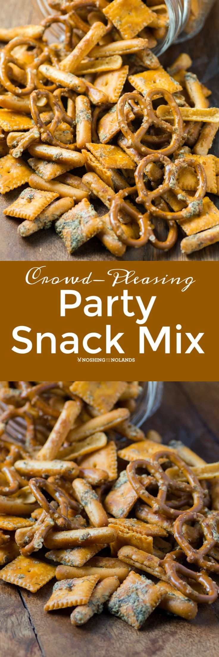 Crowd-Pleasing Party Snack Mix Do you get stumped into what munchies to put out for a crowd? Maybe it is game day or a holiday party. You want something more than chips and nuts but what? This Crowd-Pleasing Party Snack Mix recipe will come in very handy. It is easy to make and even freezes... Read More »