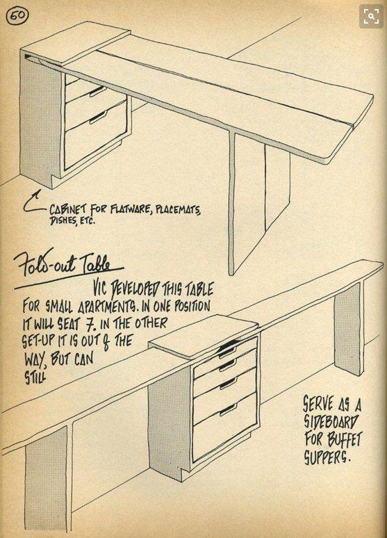Раскроечный стол для квартиры / Мебель / ВТОРАЯ УЛИЦА