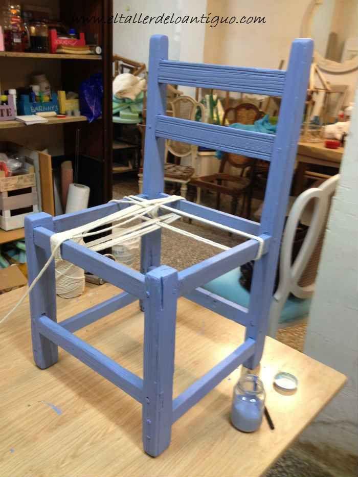 M s de 25 ideas incre bles sobre restaurar mecedoras en - Restaurar una silla de madera ...