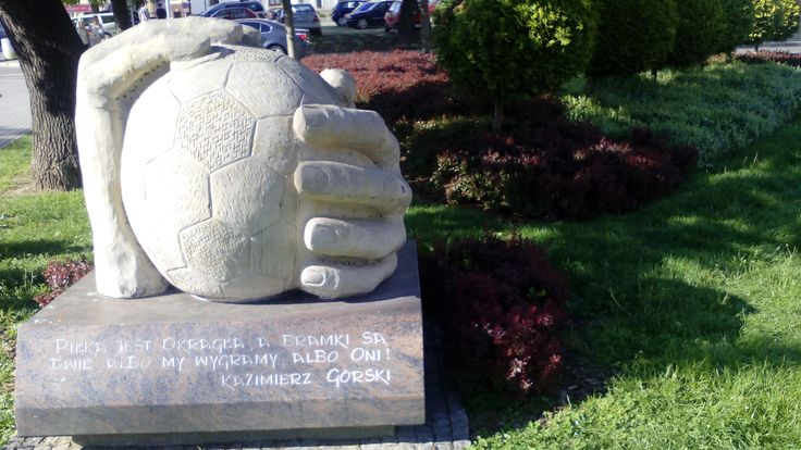 Pomnik: Kazimierz Górski