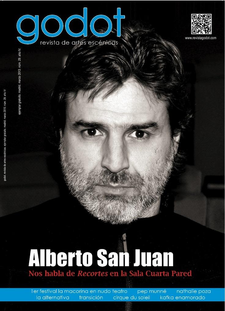 Nº 29. Marzo 2013. Alberto San Juan protagoniza Recortes, en la Sala Cuarta Pared