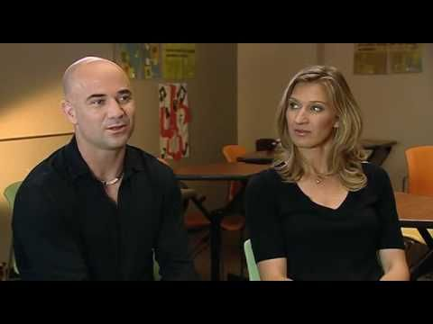 ▶ Andre Agassi and Steffi Graf on INSIDE SPORT (BBC) - PART 1 of 3 - YouTube