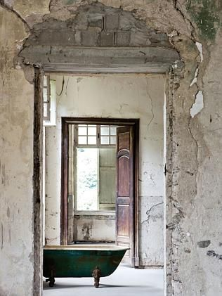 Inside Chateau de Gudanes. Picture: Carla Coulson