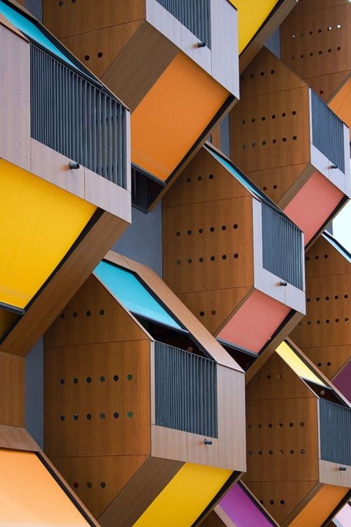 : Spaces, Color, Offi Arhitekti, Slovenia, Honeycombs Apartment, Places, Design Home, Amazing Architecture, Social Houses