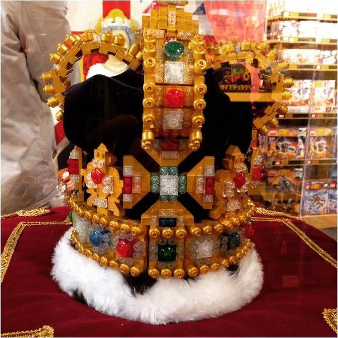 et sa précieuse couronne !