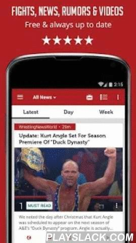 Sportfusion - WWE News Edition  Android App - playslack.com ,  ** This is an unofficial app covering news about the World Wrestling Entertainment. It's not endorsed or affiliated by the official trade mark owners in any way **The Best App For WWE Fans! WWE News offers you an unparalleled news experience with various news sources and the most up-to-date videos all in 1 app! WWE News covers all main WWE news sources, and YouTube channels to offer you the most effective and updated news summary…