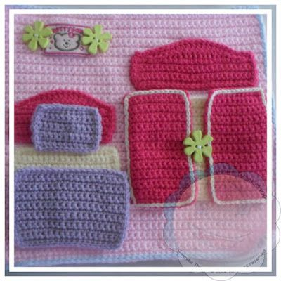 Creative Crochet Workshop: My Crochet Dollhouse Part Five