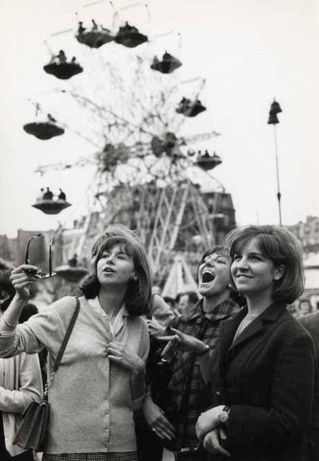 Fun fair Paris circa 1960 Pierre Parente