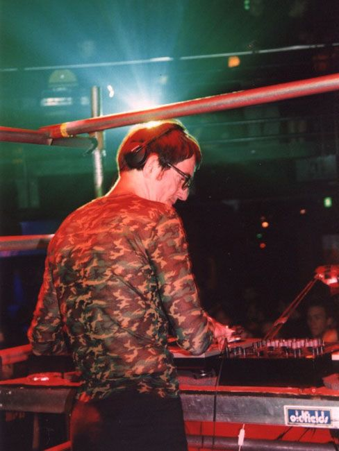 Dr Motte playing at GAS night club 2001
