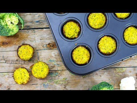 Bocconcini di broccoli | Ricetta Low carb - YouTube