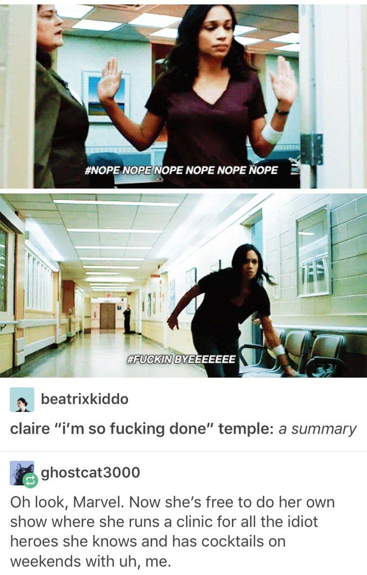 Claire Temple, Night Nurse, marvel, mcu, avengers, the defenders