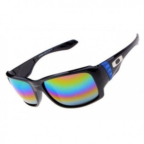 $18.00 oakley sunglass range,big taco sunglass polished black with rainbow  lens http:/
