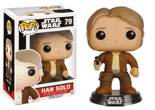 Figura Pop Han Solo - Star Wars