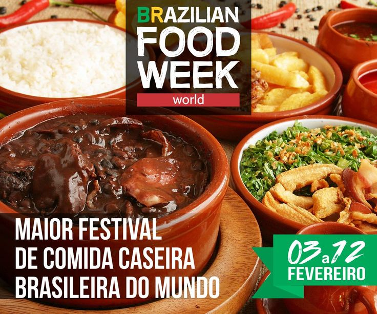 Ask any Brazilian living abroad what they miss most about their country and food will be in the top 5 list. No doubts about it. Oh well, our food is simply delicious. The great news is the 2nd edit…