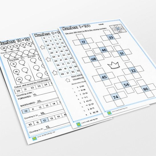 www.lizardlearning.com 0-100 Maths Pack or 1-100 chart where children can discover patterns on the number chart. There is also a fun, colour the rows and columns puzzle to complete, that everyone will enjoy.